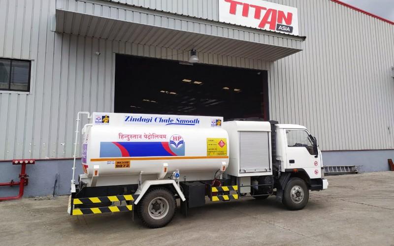fuel bowser bottom loading